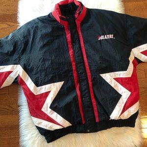 Vintage Starter Jacket Blazer Basketball Nylon L